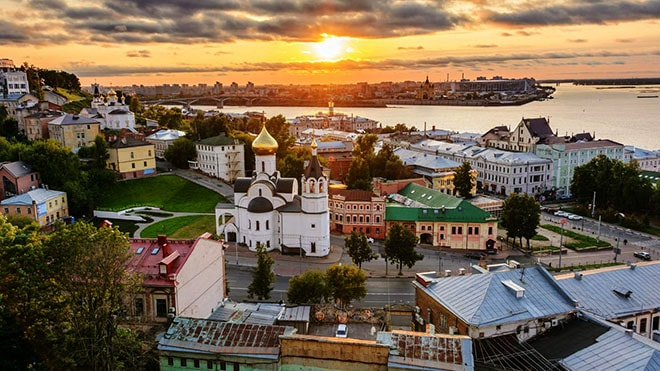 the most romantic place for dating in Nizhniy Novgorod