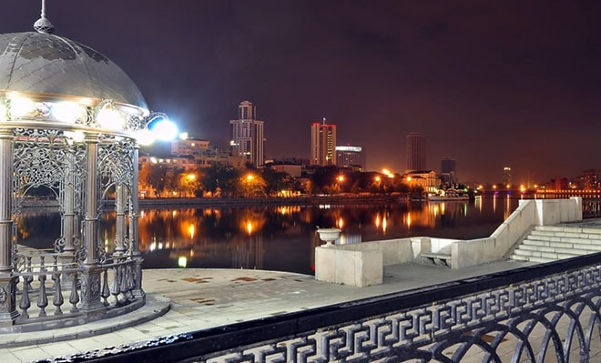 the most romantic place for dating in Yekaterinburg