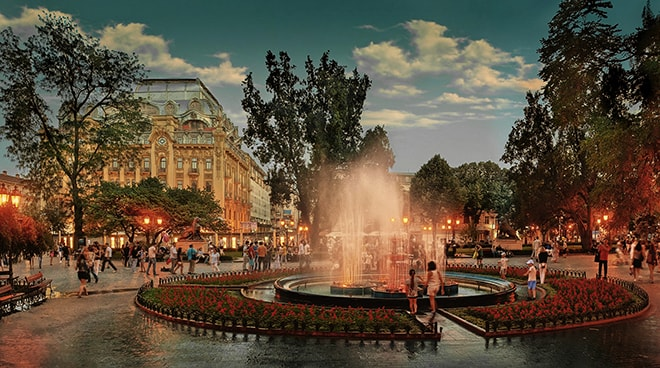 the most romantic place for dating in Odessa